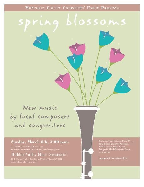Monterey Composer's Forum Concert - March 8, 2015 (Hidden