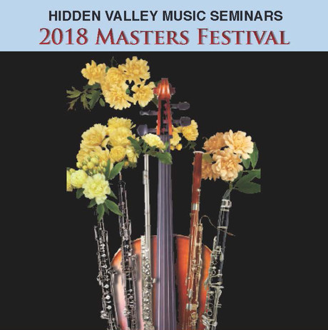 Masters' Festival Concert Series - May 26 - August 13, 2018